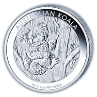 Koala 2013 - Australien 10 oz Feinsilber
