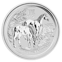 Lunar 2 Pferd Silber 2014