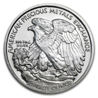 USA - Silver Eagle Walking Liberty (Half-Dollar) - 1/2 Oz Silber