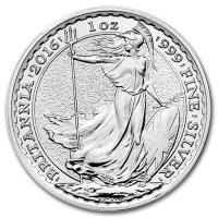 Gro�britannien - 2 GBP Britannia 2016 - 1 Oz Silber