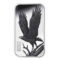 Cook Island - 1 CID Apex Predators Wedge-tailed Eagle - 1 Oz Silber