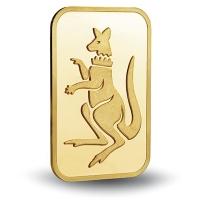 Crown K�nguru Goldbarren - 1g Gold