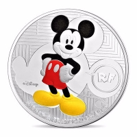 Frankreich - 10 EUR Jugendliche Mickey Mouse 2016 - Silber PP