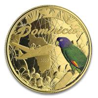 Dominica - 10 Dollar EC8II The Nature Island PP 2019 - 1 Oz Gold Color