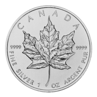 Kanada - 5 CAD Maple Leaf 2012 - 1 Oz Silber