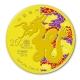 Macau Jahr des Drachen - 1/4 Oz Gold PP - The Singapore Mint