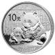 China - 10 Yuan Panda 2012 - 1 Oz Silber - China Gold Coin Corporation
