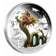 Tuvalu - 1 TVD Dragons of Legend Chinese Dragon - 1 Oz Silber