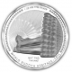 Bhutan - World Buddha Coins 3. Ausgabe Wat Pho 2011 - 1 Oz Silber PP - The Singapore Mint