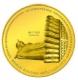 World Buddha Coins 3. Ausgabe Wat Pho 2011 - 1/25 Oz Gold - The Singapore Mint