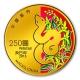Macau Jahr der Schlange - 1/4 Oz Gold PP - The Singapore Mint