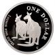 Australien - 1 AUD Silver Kangaroo 1999 - 1 Oz Silber PP - Royal Australian Mint