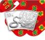 China - 10 Yuan Lunar Schlange 2013 - 1 Oz Silber Fächer - China Gold Coin Corporation