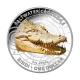 Australien - 1 AUD Krokodil Serie Bindi - 1 Oz Silber PP Color - Royal Australian Mint
