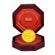 $5 Lunar Jahr der Schlange - 1/4 Oz Gold PP - The Singapore Mint
