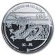 Singapur - 80 SGD Lunar Jahr des Drachen - 1 KG Silber PP - The Singapore Mint