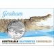 Australien - 1 AUD Krokodilserie Graham - 1 Oz Silber Blister - Royal Australian Mint