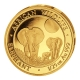 Somalia - 50 Shillings Elefant 2014 - 1/25 Oz Gold -