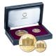 Österreich - 100+25 EUR 25 Jahre Proof Set - 1 Oz + 1/4 Oz Gold