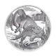 Österreich - 20 EUR Lebendige Urzeit Kreide - 18g Silber PP
