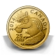 Kanada - 0.25 CAD Streifenhörnchen - 0,5g Gold PP