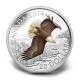 Kanada - 20 CAD Bald Eagle Höhenflug 2014 - 1 Oz Silber Color