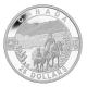 Kanada - 25 CAD O Canada Cowboy 2014 - 1 Oz Silber