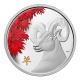 Kanada - 250 CAD Lunar Ziege 2015 - 1 KG Silber Color