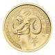 Kanada - 5 CAD Lunar Ziege 2015 - 1/10 Oz Gold PP