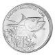 Tokelau - 5 NZD Gelbflossen Thunfisch 2014 - 1 Oz Silber