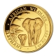 Somalia - 1000 Shillings Elefant 2015 - 1 Oz Gold