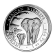 Somalia - African Wildlife Elefant 2015 - 1 Oz Silber