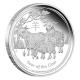 Australien - 30 AUD Lunar II Ziege 2015 - 1 KG Silber PP