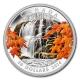 Kanada - 20 CAD Autumn Falls - 1 Oz Silber PP