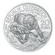 Österreich - 20 EUR Lebendige Urzeit Tertiär - 18g Silber PP