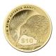 Neuseeland - 10 NZD Kiwi 2015 - 1/4 Oz Gold - PP