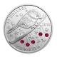 Kanada - 20 CAD Meise mit Swarovski 2014 - 1 Oz Silber