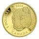 Kanada - 5 CAD Puma Serie 2014 - 1/10 Oz Gold PP