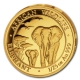 Somalia - 50 Shillings Elefant 2015 - 1/25 Oz Gold