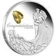 Australien - 1 AUD Hochzeit 2015 - 1 Oz Silber