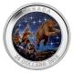 Kanada - 25 CAD Sternenkarten Der Aufstieg 2015 - 1 Oz Silber