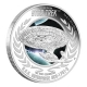 Tuvalu - 1 TVD Star Trek U.S.S. Enterprise NCC-1701-D - 1 Oz Silber