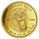 Kanada - 5 CAD Prähistorische Tiere Säbelzahntiger - 1/10 Oz Gold