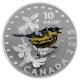 Kanada - 10 CAD Singvögel Magnolien-Waldsänger - 1/2 Oz Silber