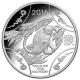 Australien - 1 AUD RAM Jahr des Affen 2016 - 11,66g Silber PP