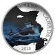 Kanada - 20 CAD Lost Ships SS Edmund Fitzgerald 2015 - 1 Oz Silber