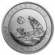 Kanada - 2 CAD Heulende Wölfe 2016 - 3/4 Oz Silber
