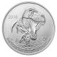 Kanada - 20 CAD $20 for $20 Tyrannosaurus Rex 2016 - 1/4 Oz Silber