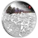 Australien - 1 AUD The ANZAC Spirit Be Worthy of Them 2016 - 1 Oz Silber
