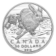 Kanada - 50 CAD $50 for $50 Hase 2016 - 1/2 Oz Silber